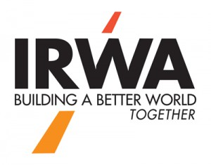 international right of way association logo